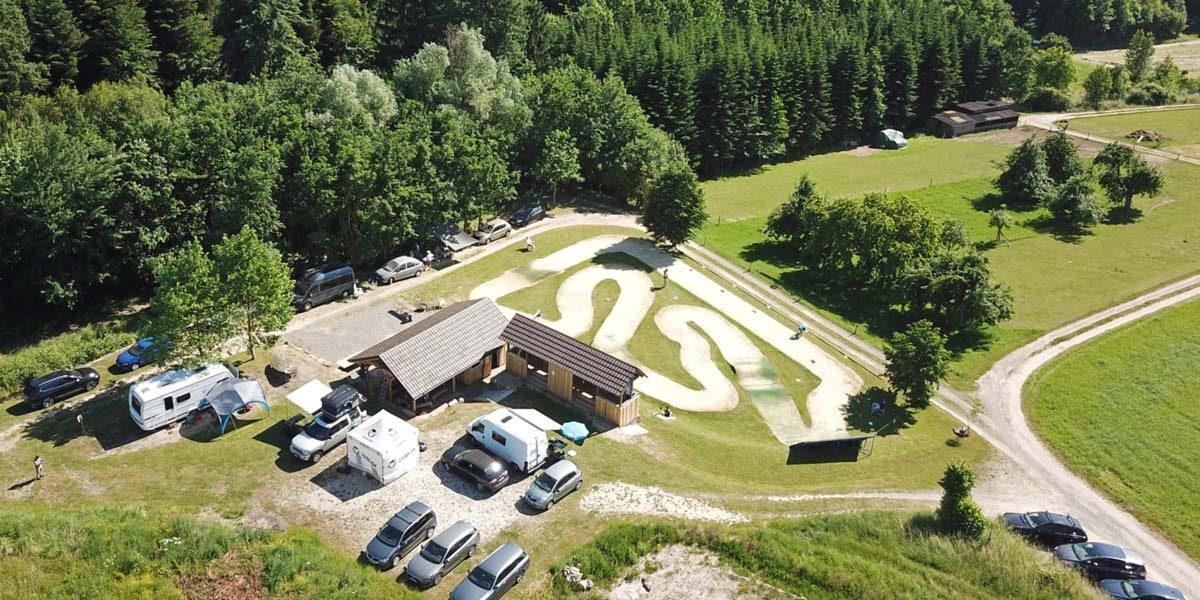 Luftbild EDC Vereinsgelände